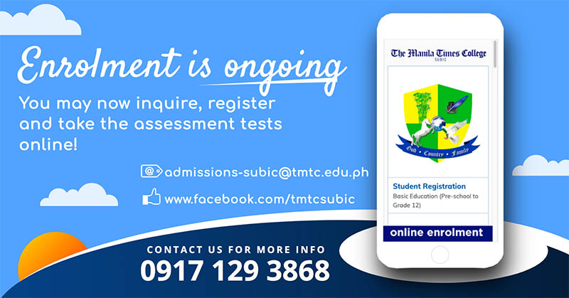 Online Enrolment for AY 2021-2022