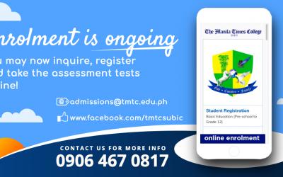 Online Enrolment for AY 2021-2022