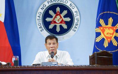 No ceasefire ever again – Duterte